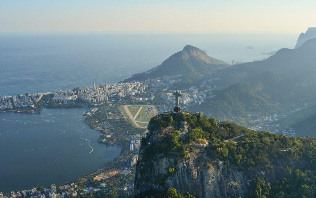 Cristo Redentor no Rio de Janeiro - Brasil