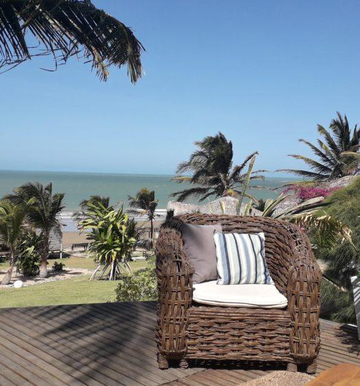 Praia de Icaraí no Ceará