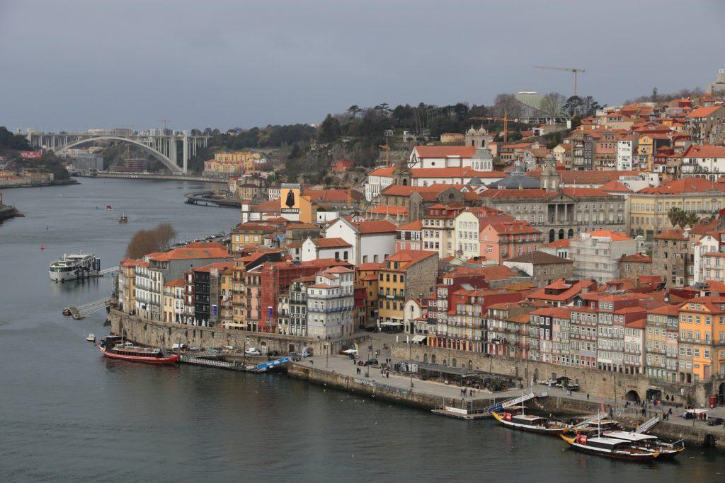 A cidade do Porto em Portugal