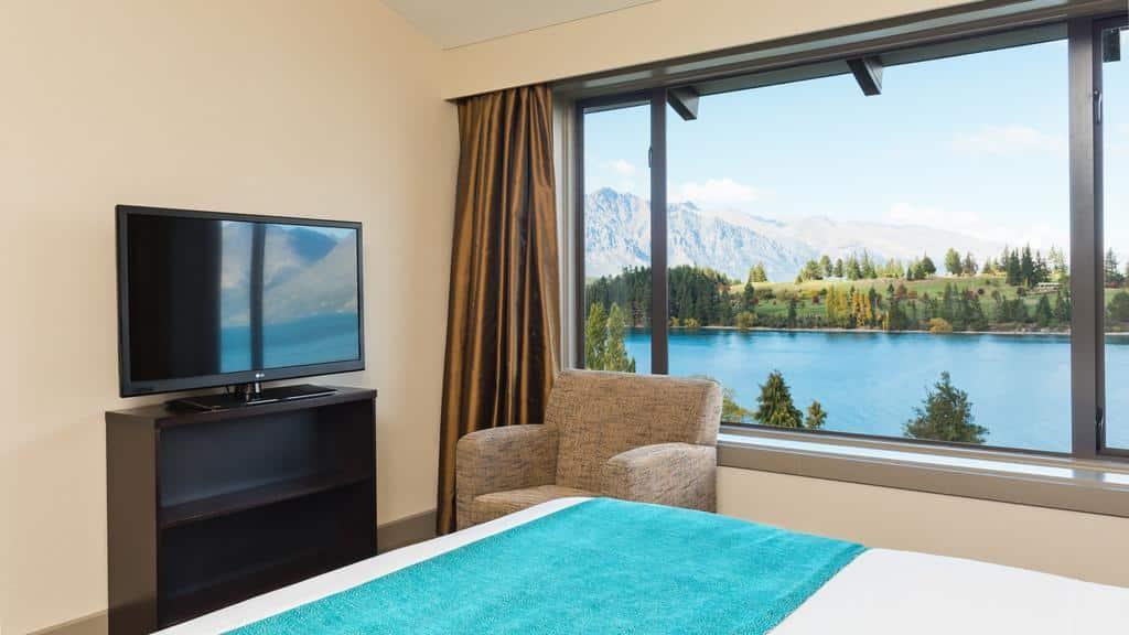 quarto em copthorne hotel e resort lakefront queenstown