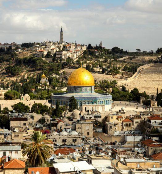 A Cúpula da Rocha em Israel