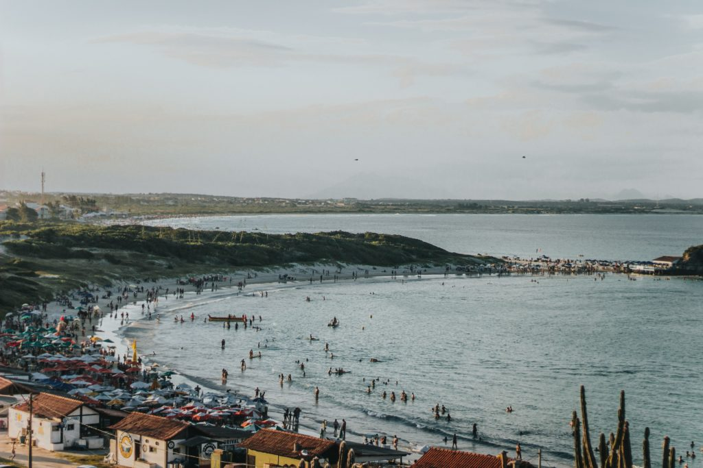 praia das conchas em cabo frio no rio de janeiro