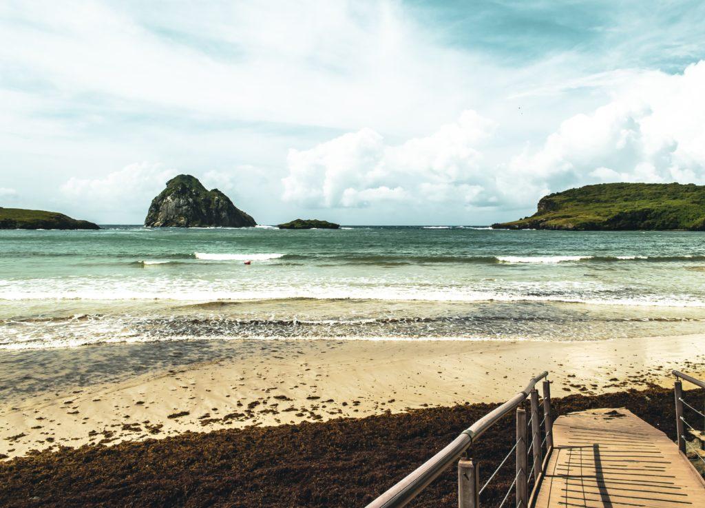Praia da Conceição em Fernando de Noronha
