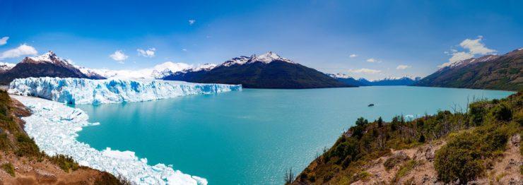foto do glaciar perito moreno na argentina