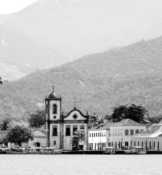 cidade histórica de paraty no rio de janeiro