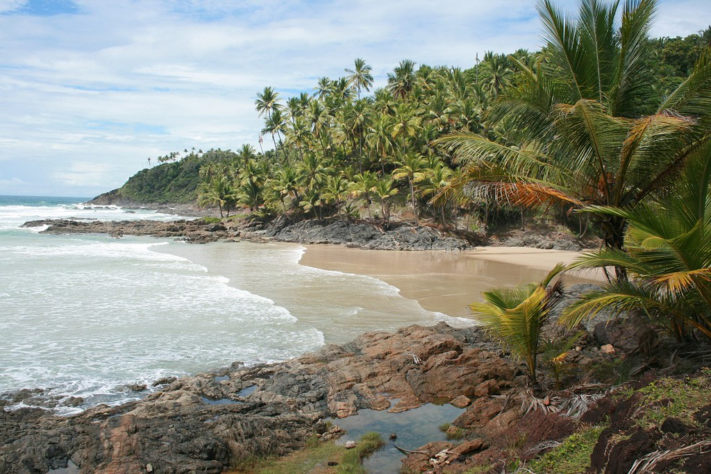 Foto da praia Havaizinho em Itacaré, na Bahia