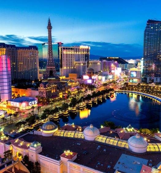 Las Vegas em Nevada nos Estados Unidos