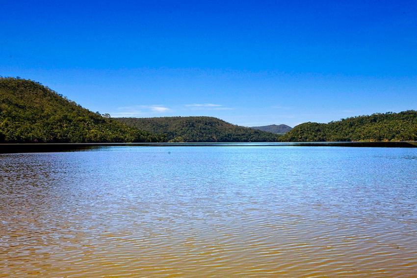lago de corumba em caldas novas