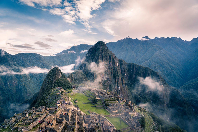 Machu Picchu vista panorâmica