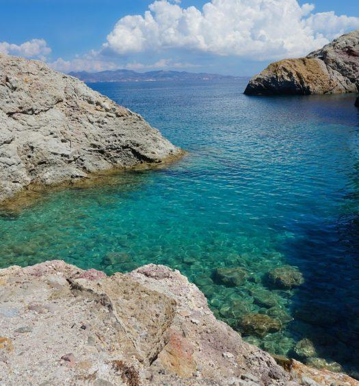 Milos, ilha da Grécia