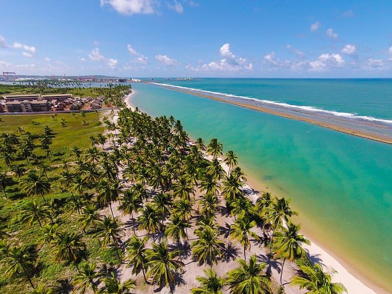 Praia de Muro Alto próximo a Porto de Galinhas, Pernambuco - Foto: Cleferson Comarela