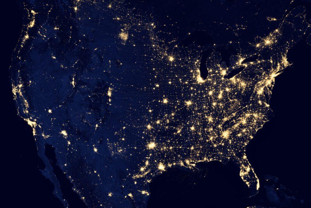 país norte americano usando o chip de celular dos eua