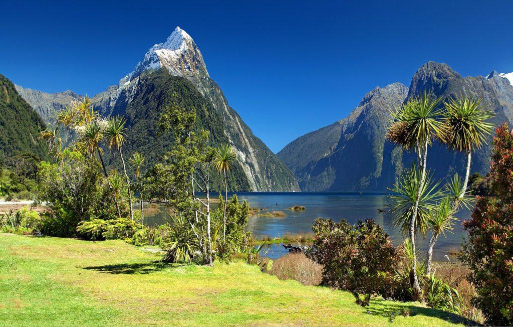 milford sound na nova zelandia