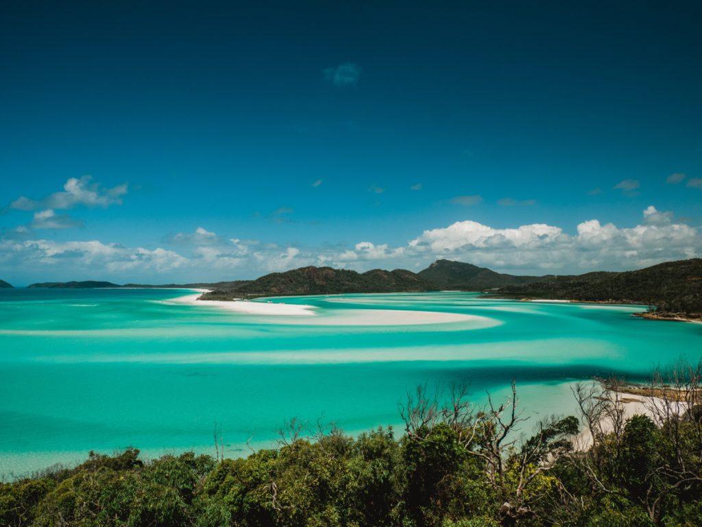 whitsunday island na austrália