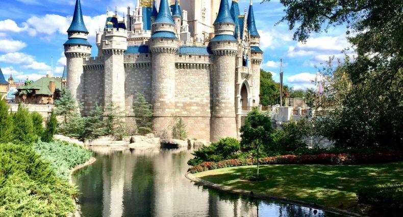 CAstelo da Disney em Orlando na Flórida