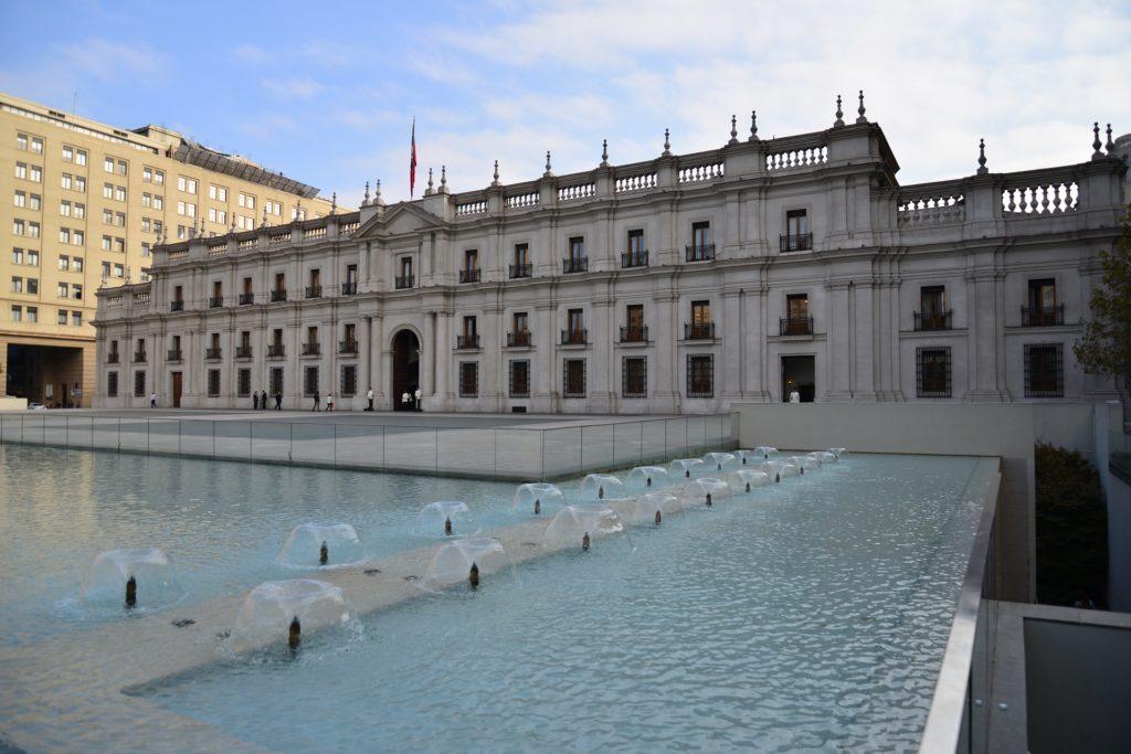 palacio de la moneda em santiago