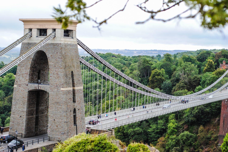 Ponte suspensa de Clifton, em Bristol
