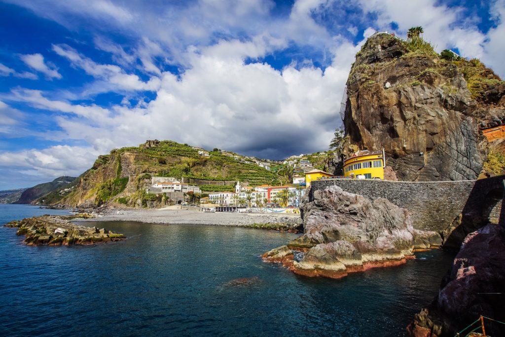 A Ponta do Sol na Ilha da Madeira