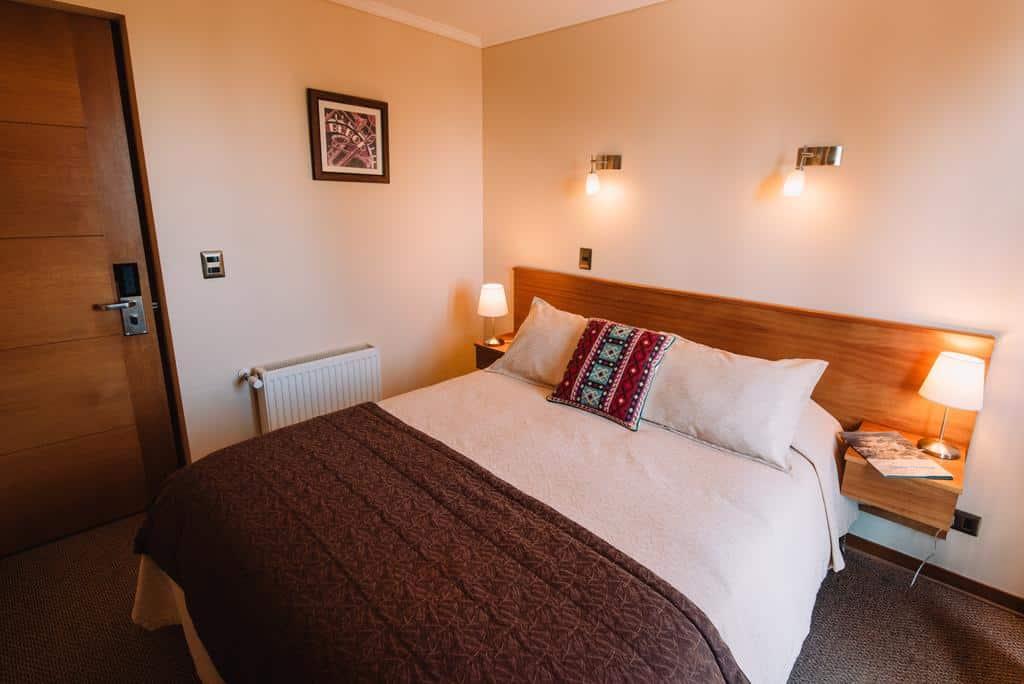 quarto de hotel no valle nevado, perto de santiago