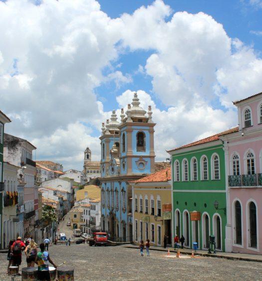 Pelourinho em Salvador, Bahia