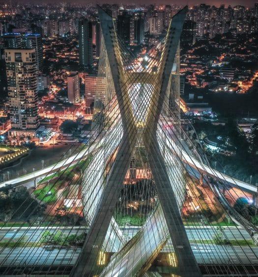 ponte da vila morumbi em são paulo