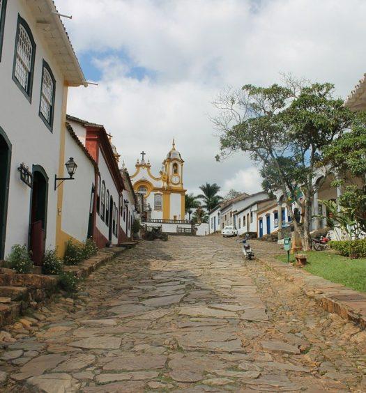 Ladeira em Tiradentes