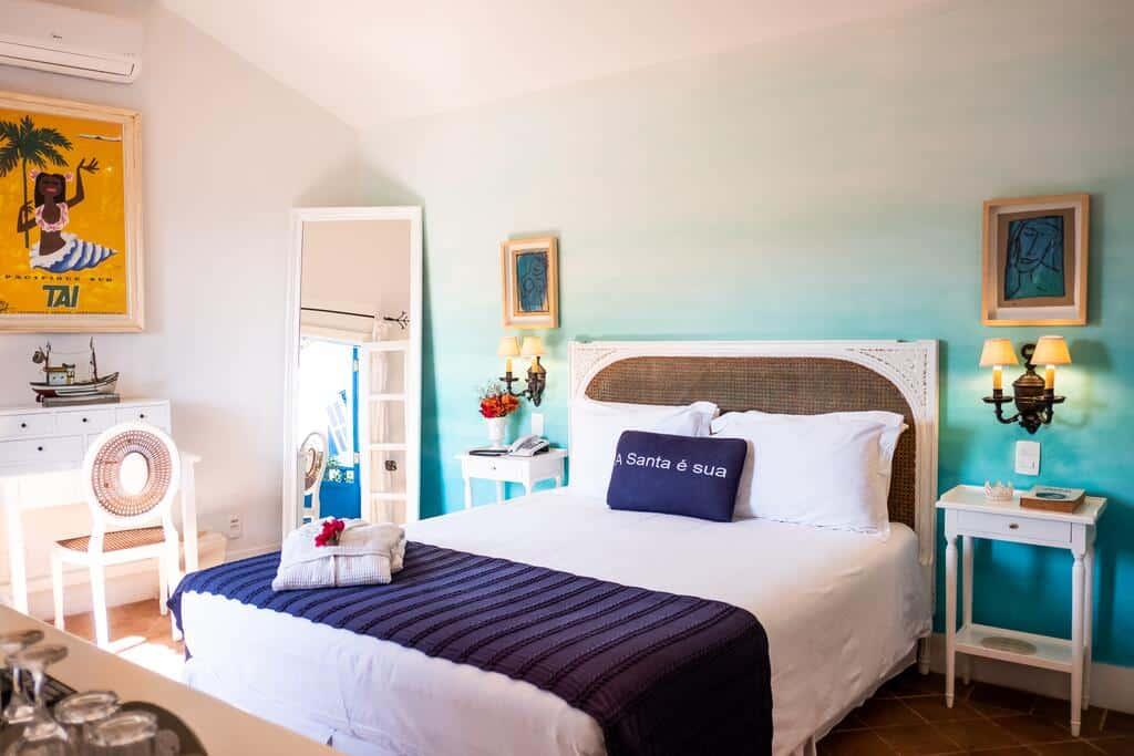 quarto da vila da santa hotel boutique e spa em búzios no rio de janeiro