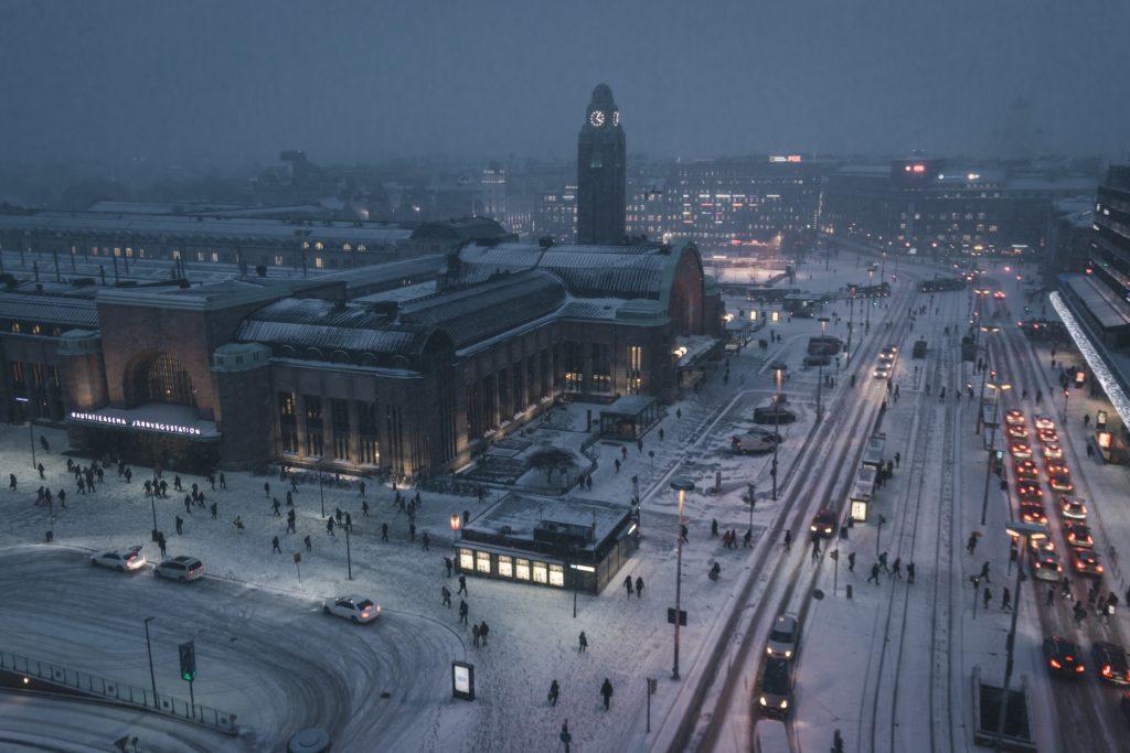 Helsinki na Finlândia