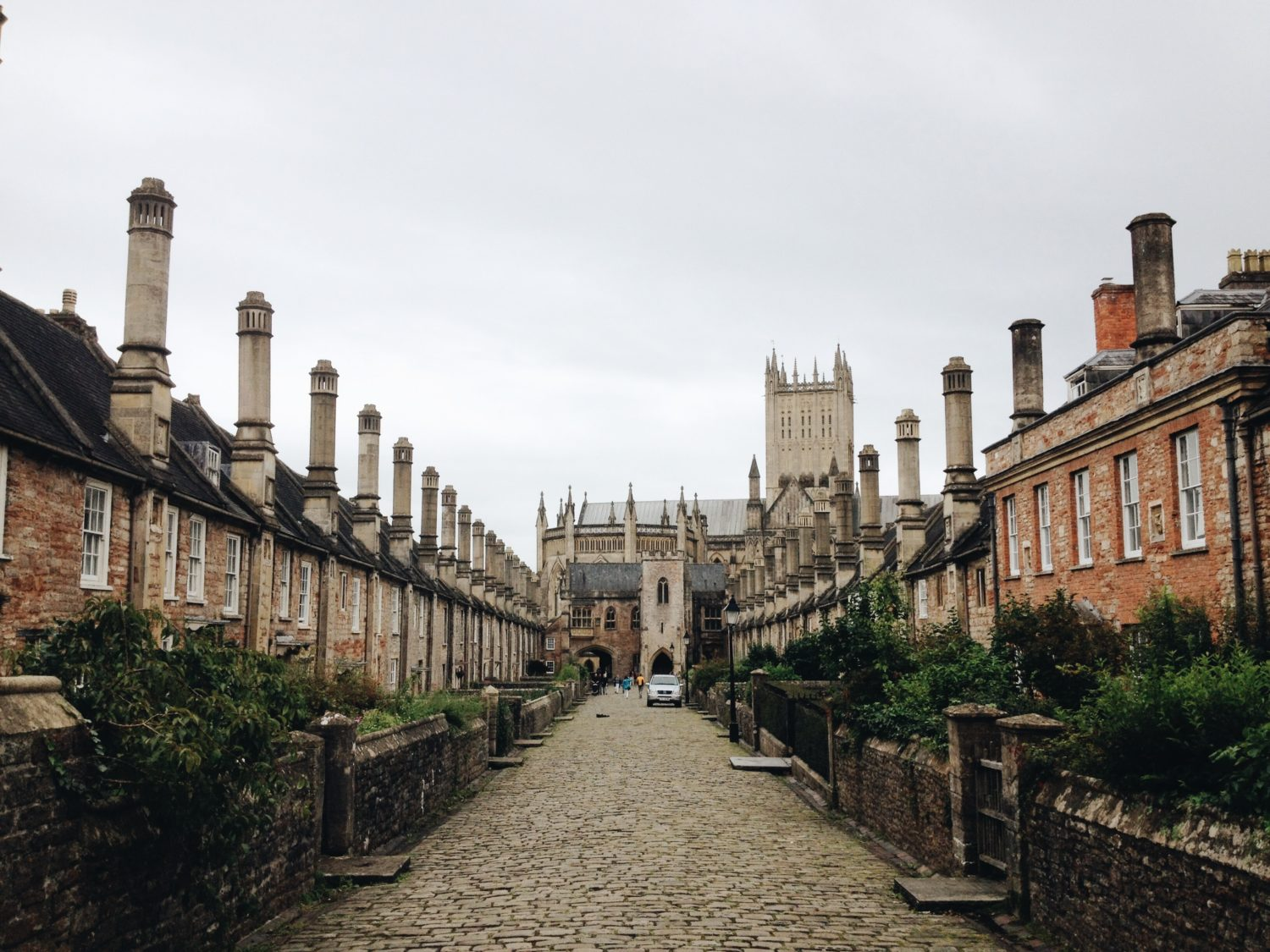 Vicar's Close at Wells in Somerset
