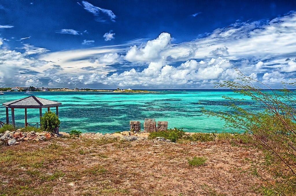 praia em anguilla