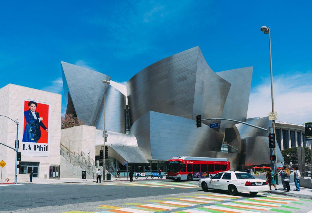 Walt Disney Concert Hall em Los Anleges