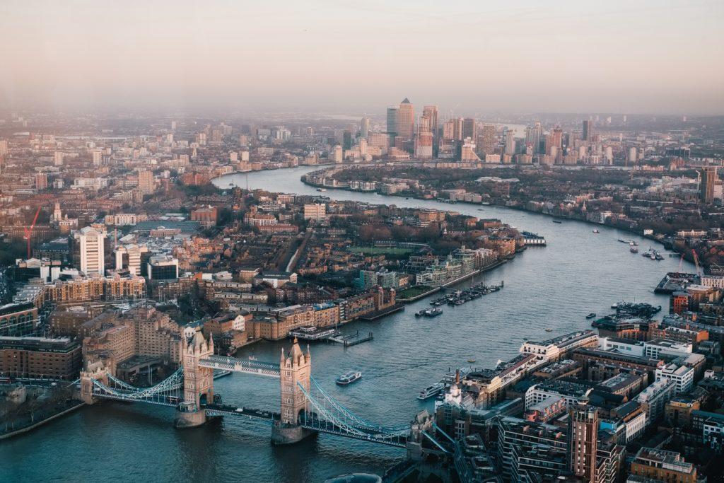 Londres, na Inglaterra do Reino Unido