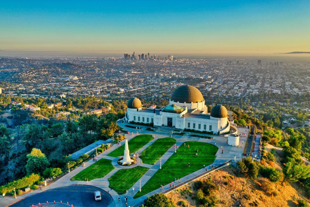 Parque e Observatório Griffith em Los Angeles