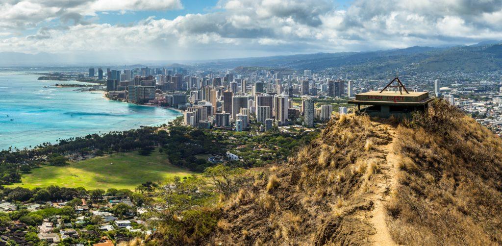 Diamond Head State Monument em Honolulu