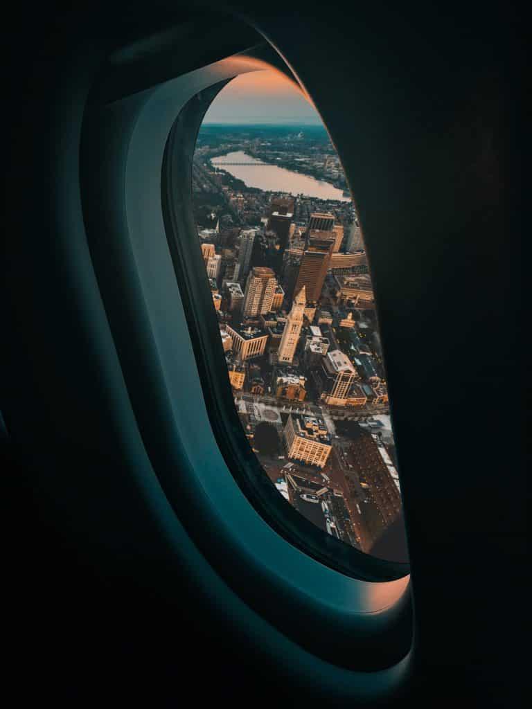 vista aerea de boston
