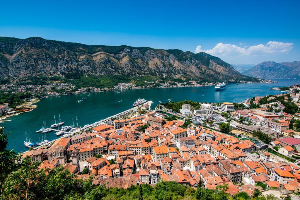 cidade de Kotor em Montenegro