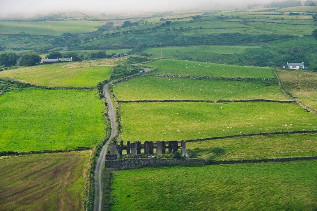 Torr Head na Irlanda do Norte no Reino Unido
