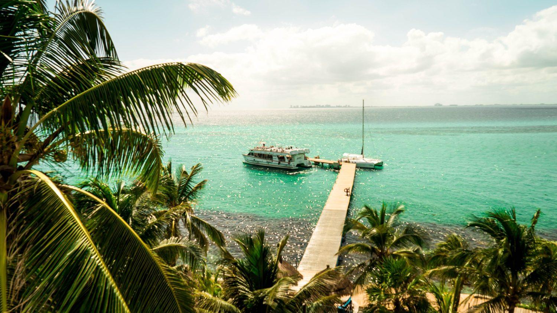 isla mujeres na costa de cancún no méxico