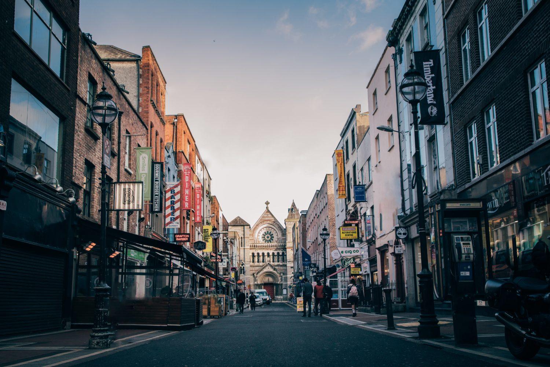 anne's street em Dublin