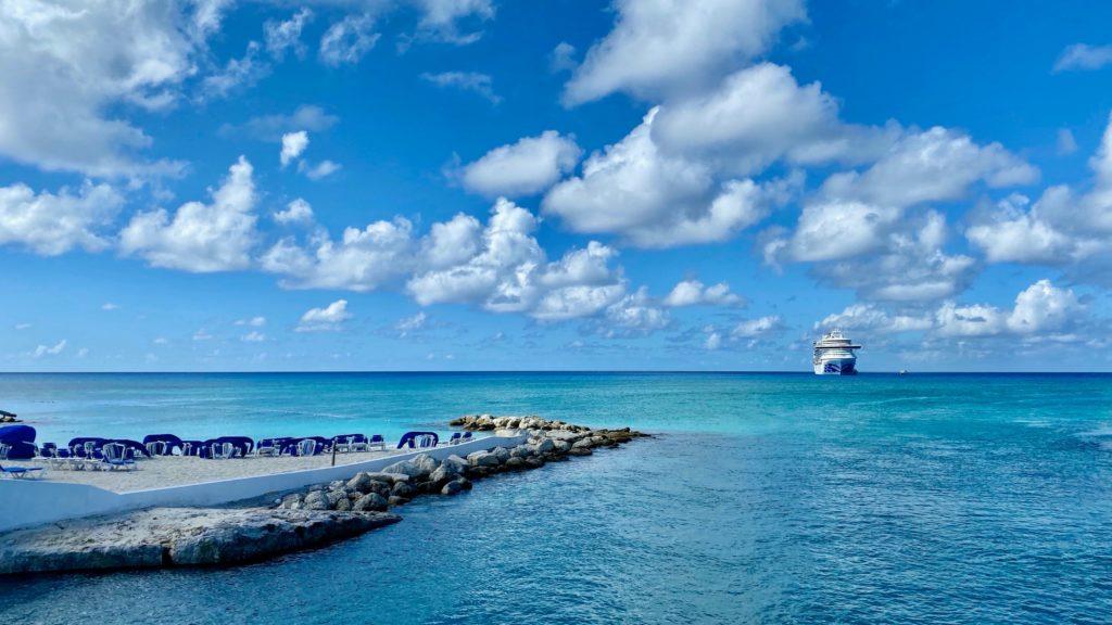 Ilha Eleuthera nas Bahamas no Caribe