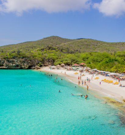 praia de grote knip em curaçao