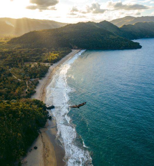 praia El valle na república dominicana