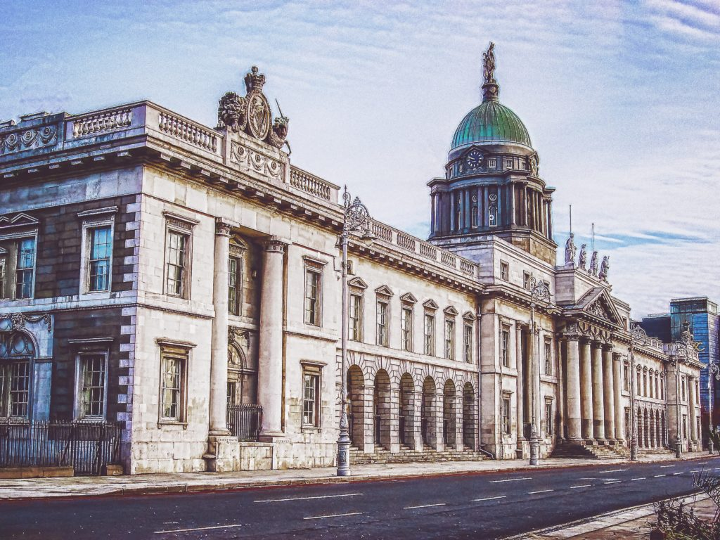 Casa Alfândega em Dublin
