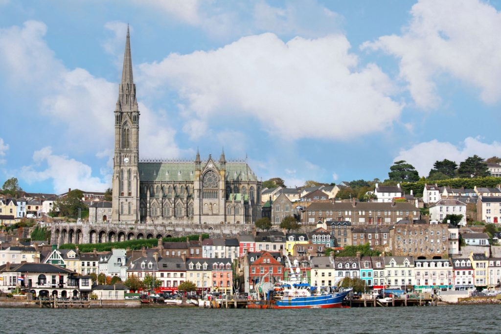 cidade de cobh na irlanda