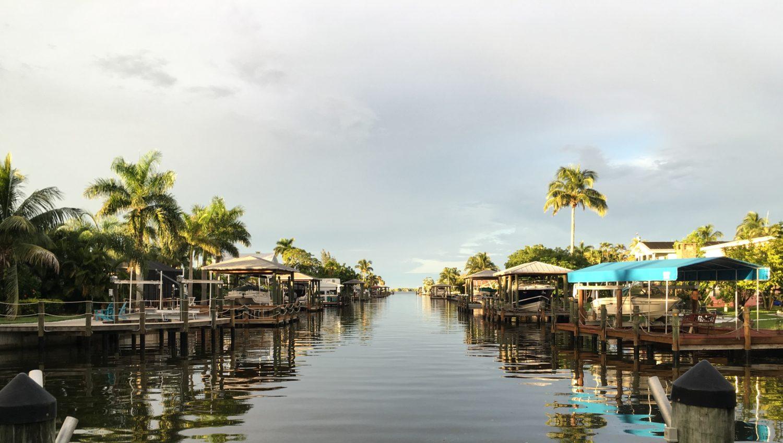 região de fort myers beach na florida