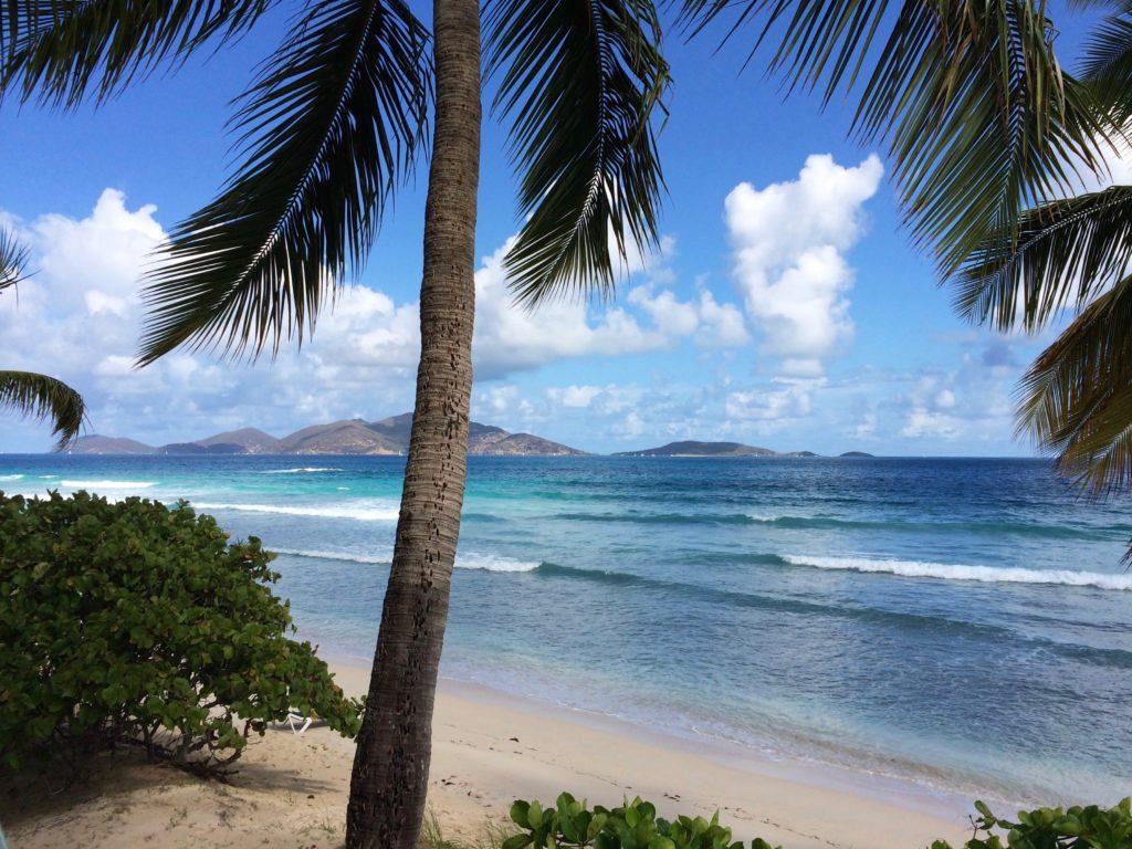 Ilha Tortola nas Ilhas Virgens Britânicas