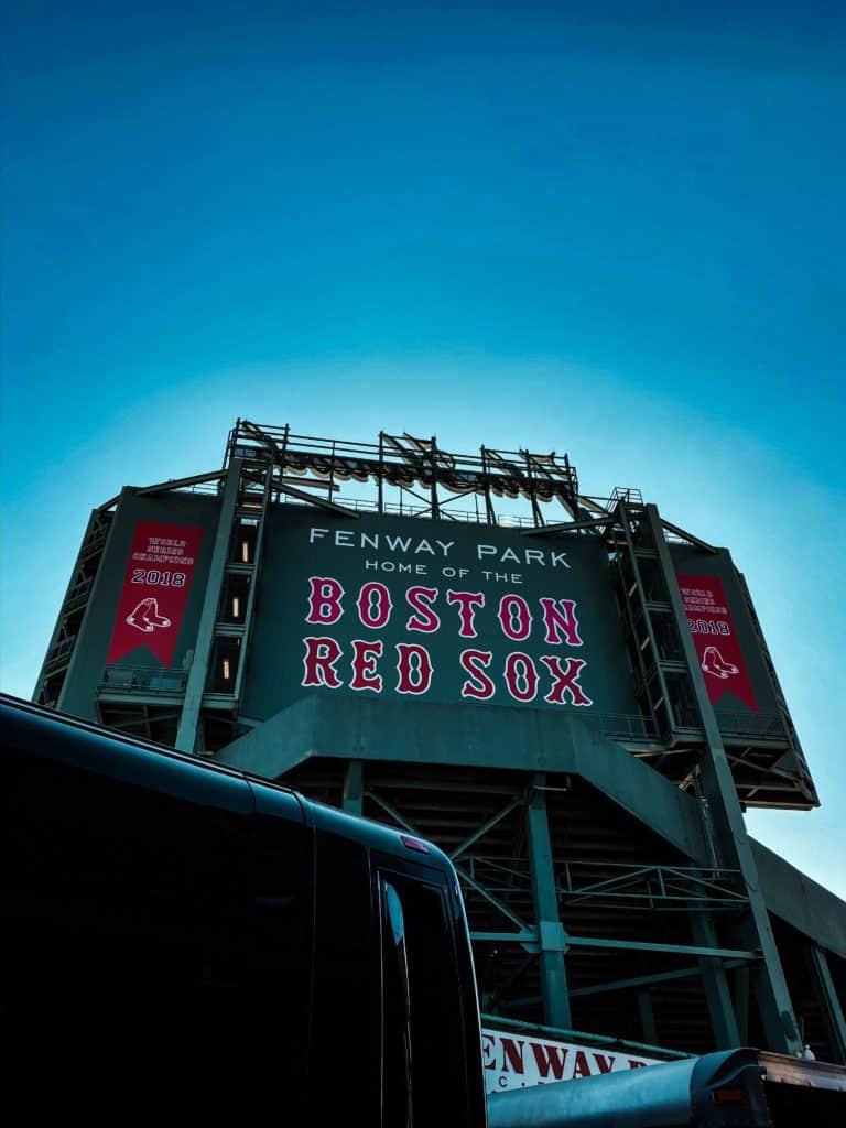 estádio fenway park, casa do red sox de boston