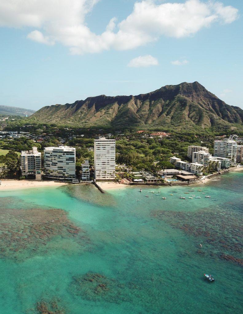 Kaimana Beach em Honolulu