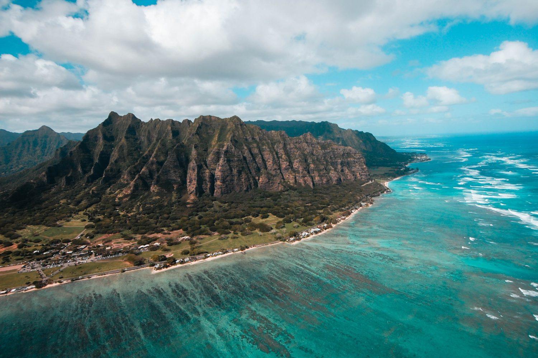 vista aerea da cidade de honolulu no havaí
