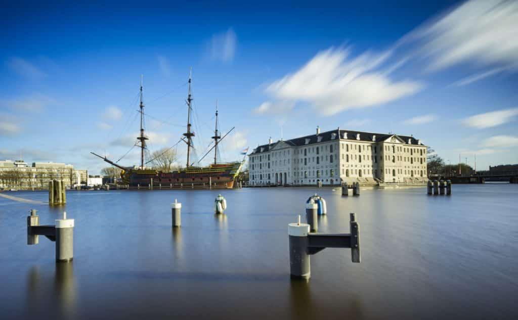 Museu Marítimo Nacional em Amsterdam